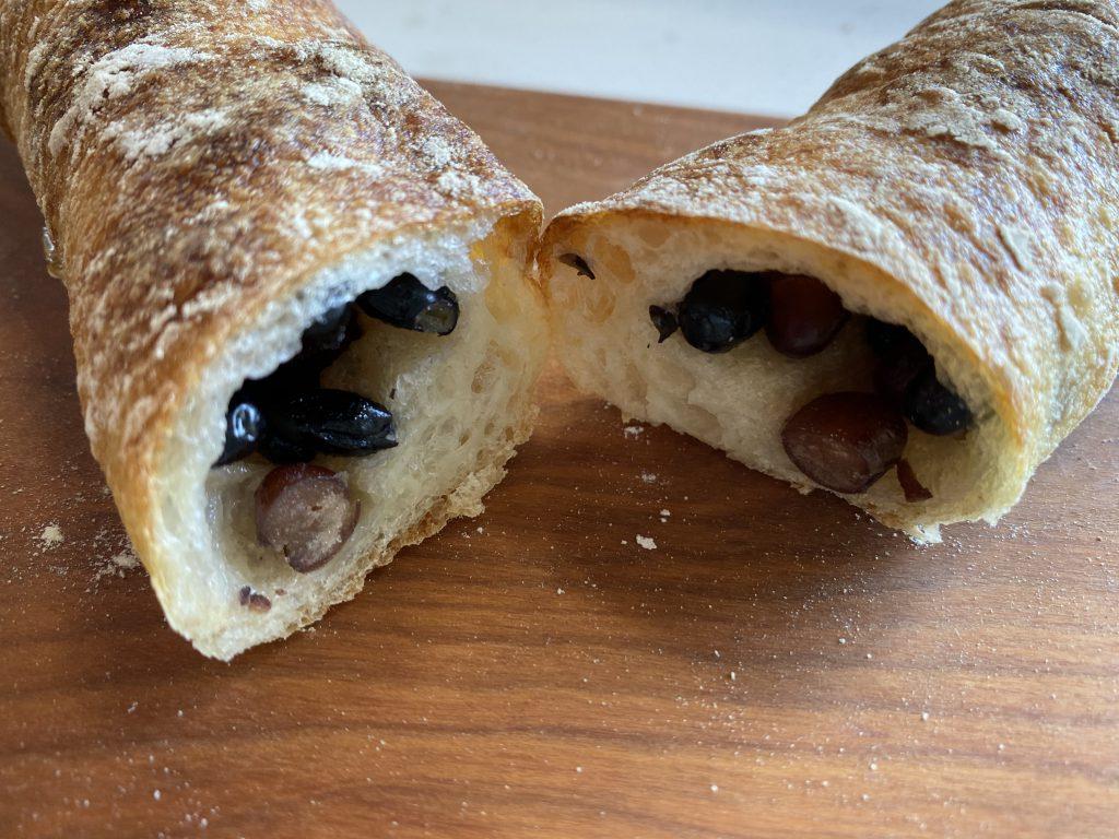 おすすめパン屋、神楽坂「パン デ フィロゾフ」の大納言のパン
